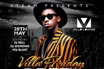 ATeam Presents: Orezi Live In Dallas | Villa Fridays | 05-20-16