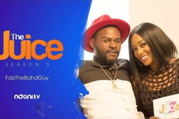 VIDEO: Falz On The Juice