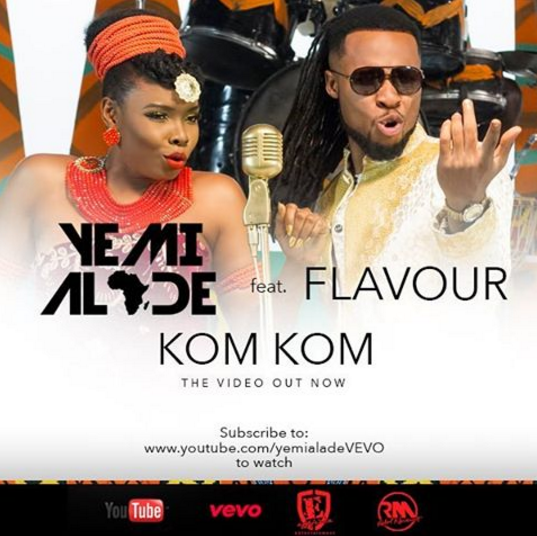 VIDEO: Yemi Alade ft. Flavour - Kom Kom