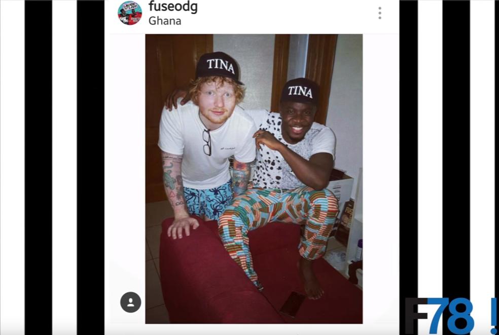 Fuse ODG Ed Sheeran