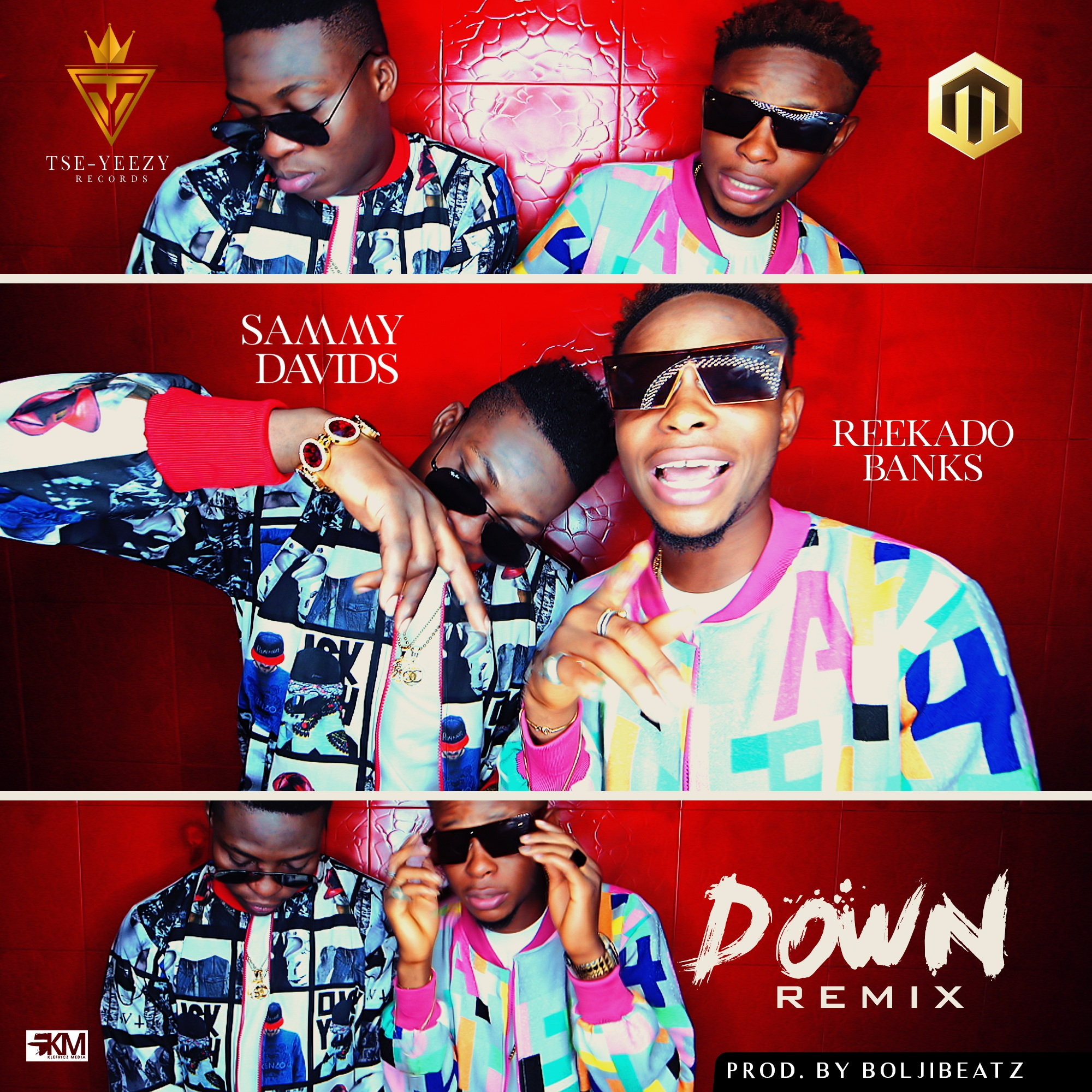 VIDEO: Sammy Davids ft. Reekado Banks - Down (Remix)