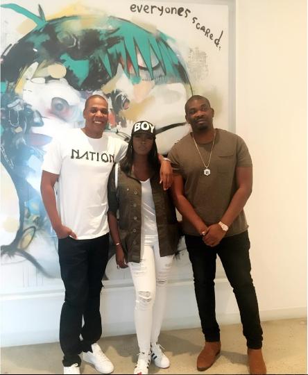 Jay-Z Tiwa Savage Don Jazzy