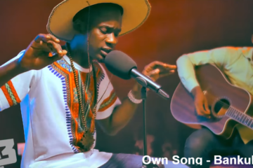 VIDEO: Mr Eazi Performs Acoustic Set on A3 Sessions