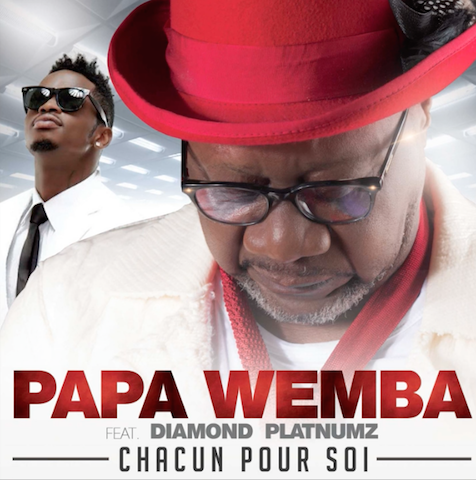 Papa Wemba Diamond pic