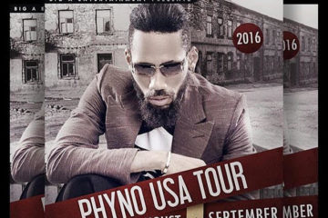 Get Ready for Phyno US Tour Aug/Sept 2016