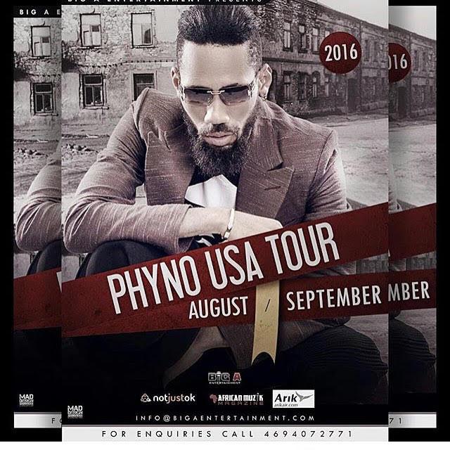 Phyno USA Tour