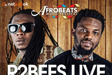 R2BEES Headline AFROBEATS Music Festival, UK @ O2 on July 30 2016