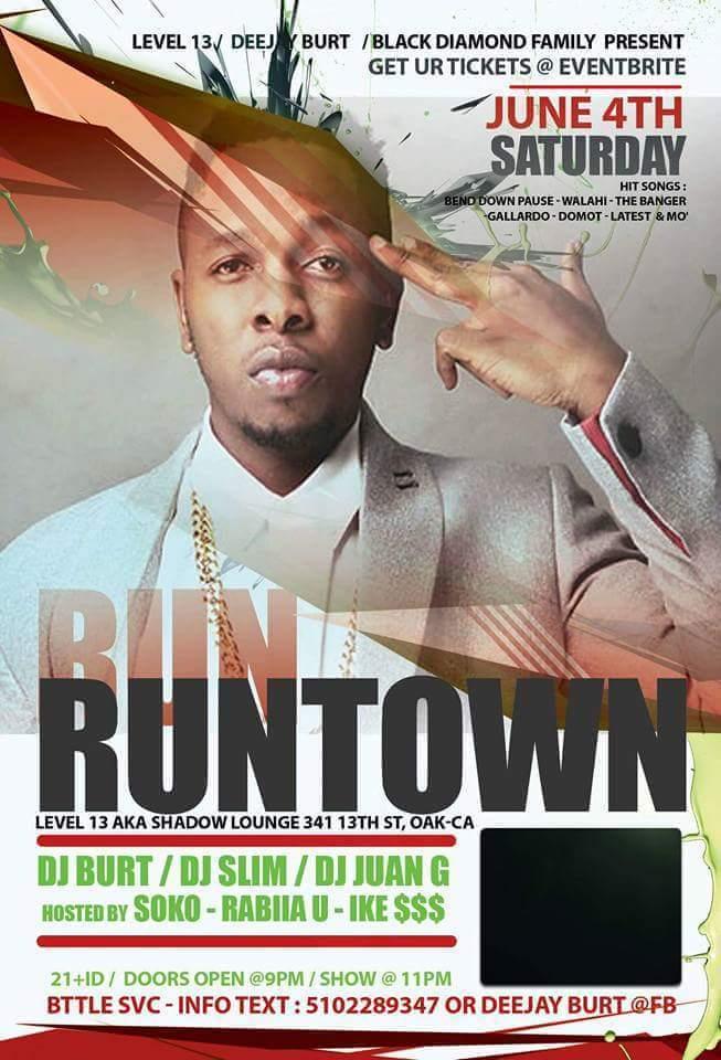 Runtown Oakland