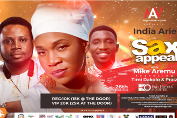 India Arie Sends Video Shout Out To Nigerians Ahead of Visit Next Week For SAX APPEAL 5