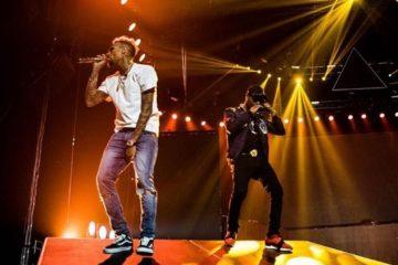 "VIDEO: Chris Brown & Wizkid Perform ""African Bad Girl"" @ #OneHellofaNight Tour, Amsterdam"