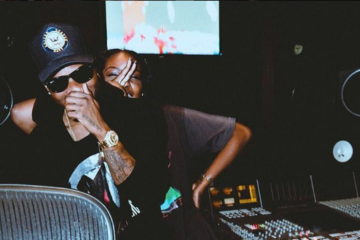 VIDEO: Wizkid In The Studio w/ French Montana   Justine Skye   Diplo   May Be Performing w/ Drake @ BET Awards 2016