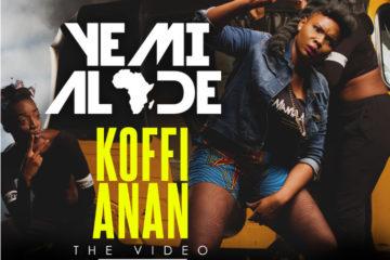 VIDEO: Yemi Alade – Koffi Anan