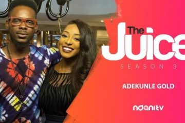 VIDEO: Adekunle Gold On The Juice