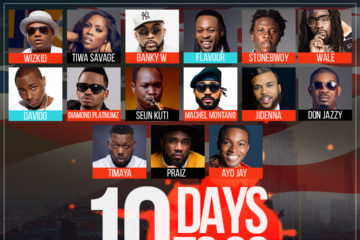 10 Days to One Africa Music Fest @ Barclays Center, New York | Stonebwoy & Machel Montano Speak