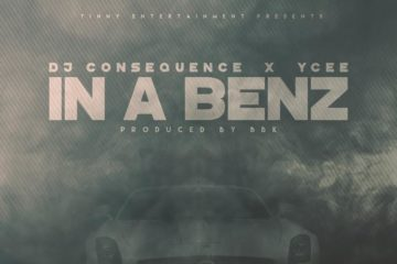 DJ Consequence In A Benz Art