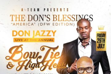 Don Jazzy LIVE @ Villa Lounge | BowTie & High Heels | Friday, July 29 | Dallas, TX