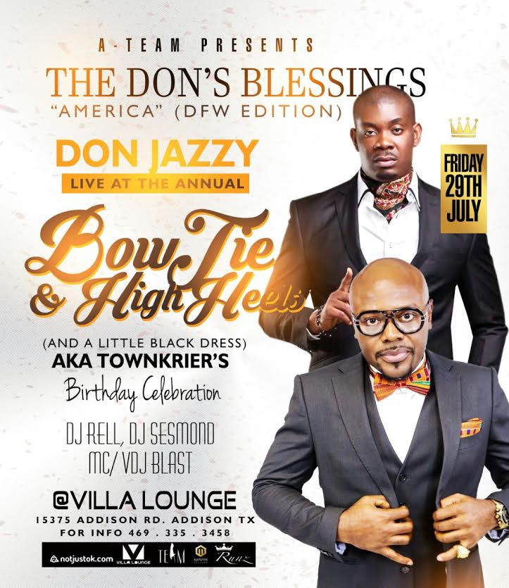 Don Jazzy Villa Dallas