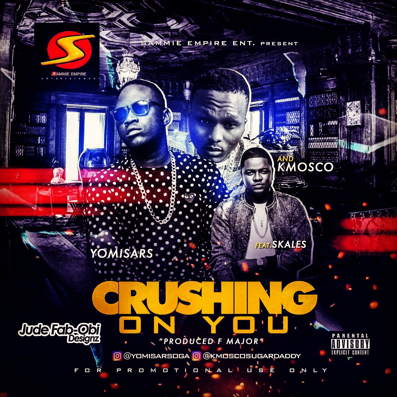Yomi Sars ft. Skales x K-Mosco – Crushing On You (prod. F-Major)