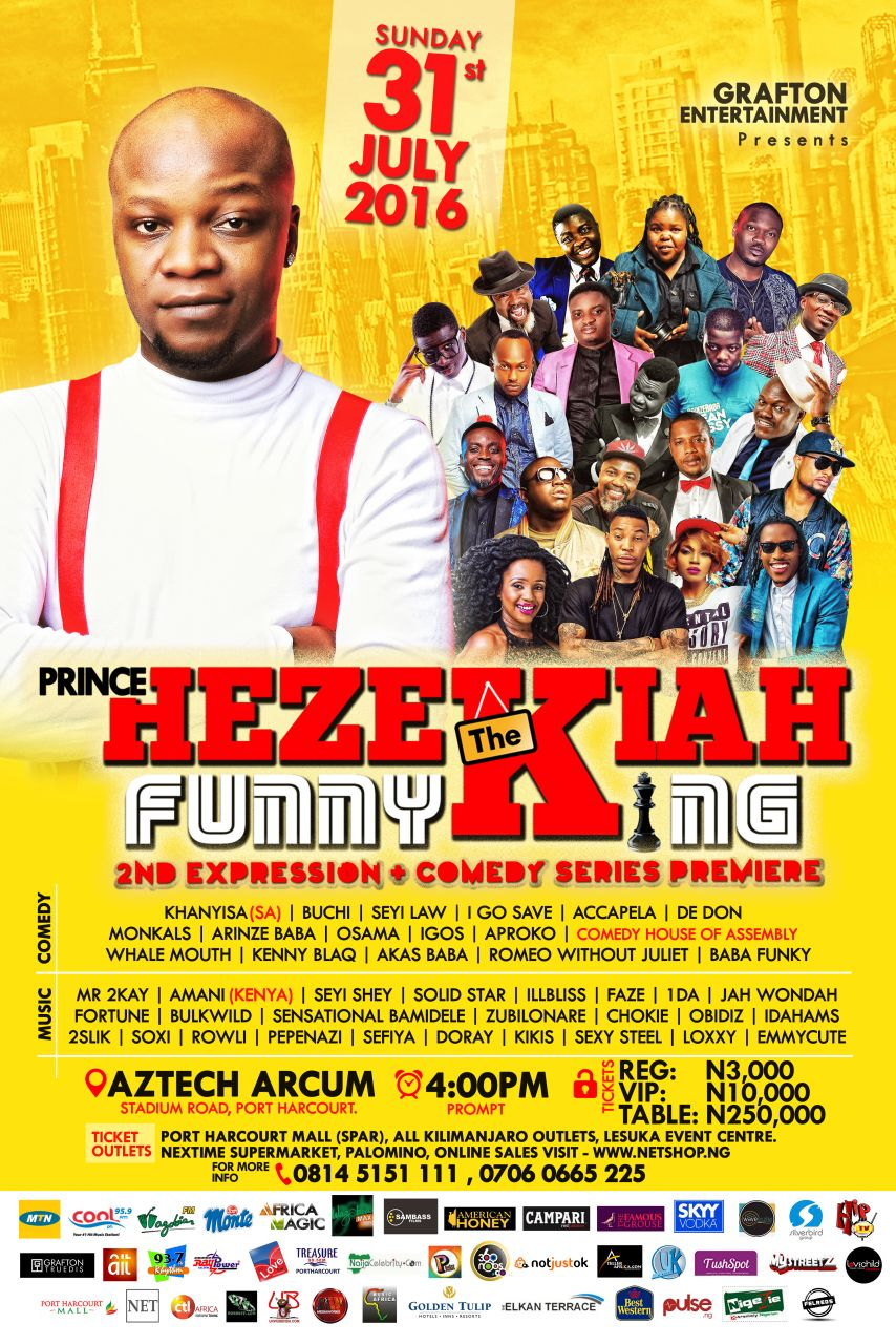 Grafton Enterntainment Presents: Prince Hezekiah The Funny King - 2nd Expression