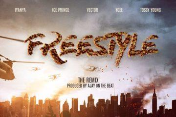 Iyanya x Ice Prince x Ycee x Vector x Tossy Young – Freestyle (Remix)