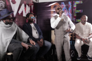 VIDEO: One Africa Music Fest | Press Conference w/ Host Banky W, Paul O, Cobhams, Praiz
