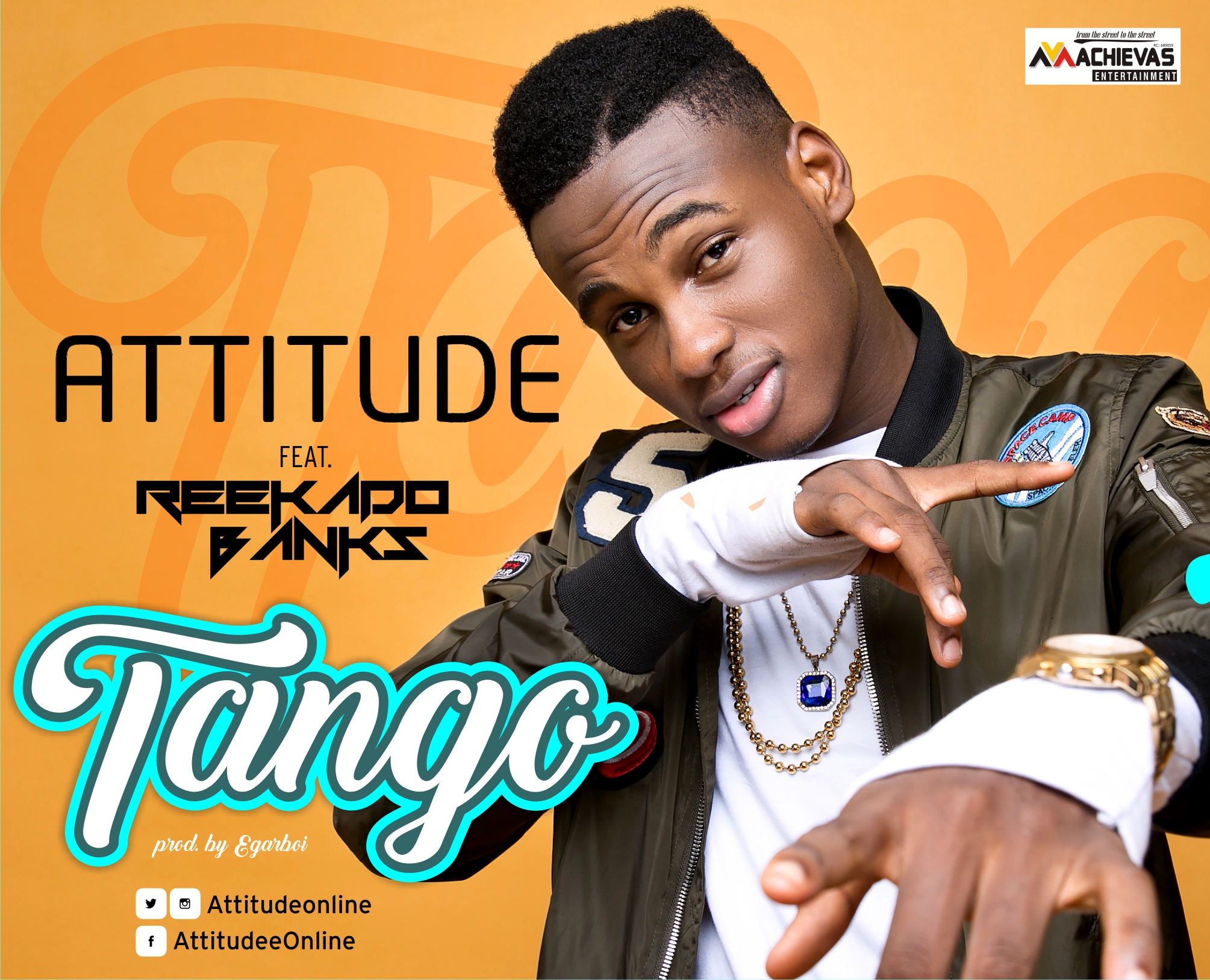VIDEO: Attitude ft. Reeekado Banks - Tango