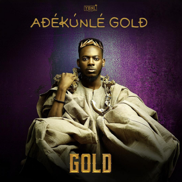 "Adekunle Gold Reveals ""Gold"" Album Artwork 