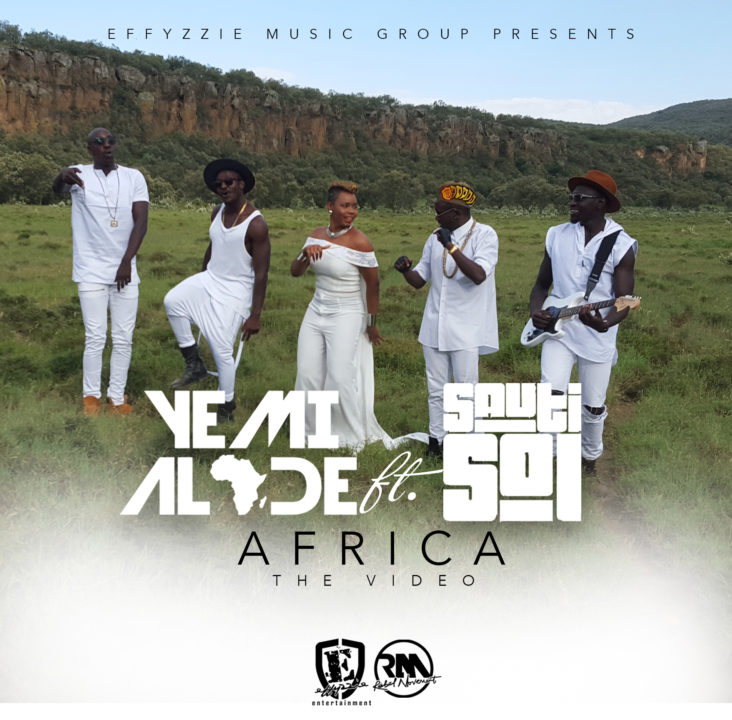VIDEO: Yemi Alade - Africa ft. Sauti Sol