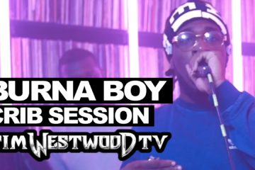 VIDEO: Burna Boy's 15 Minute Freestyle @ Westwood Crib Session