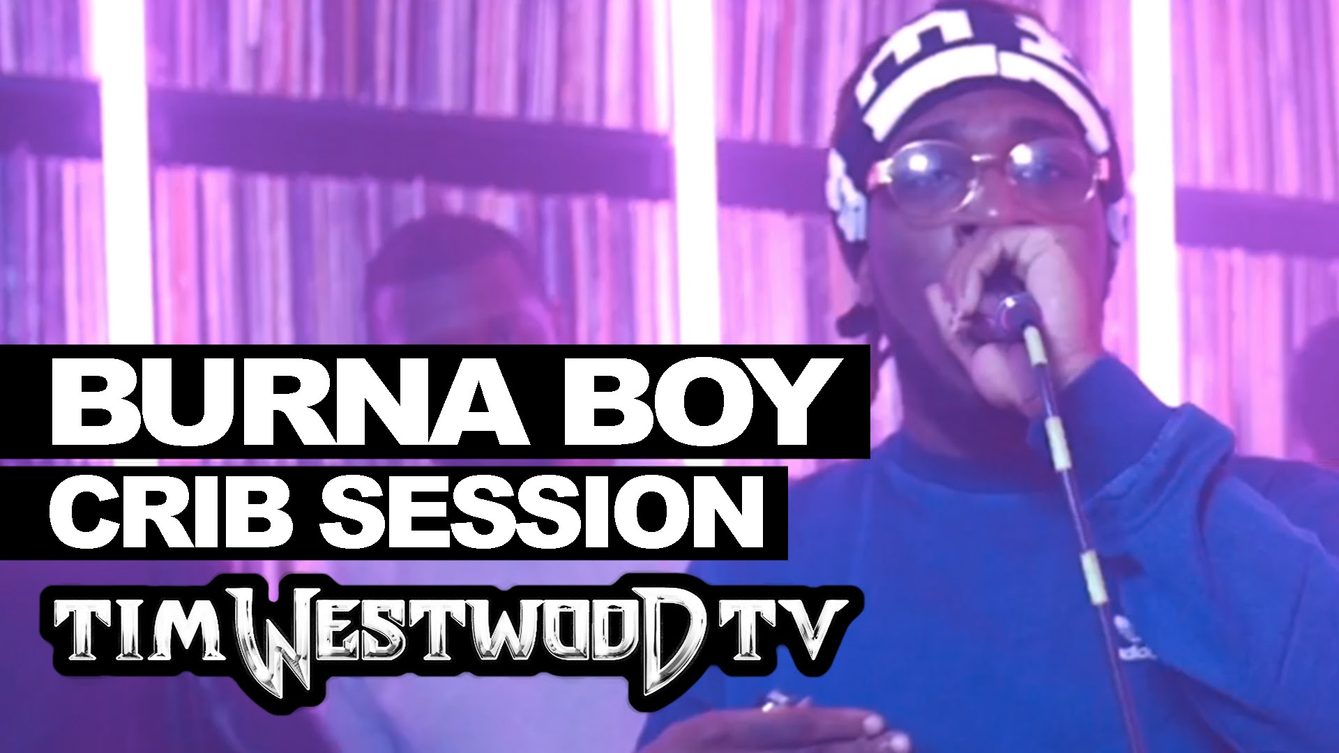 VIDEO: Burna Boy's 15 Minutes Freestyle @ Westwood Crib Session