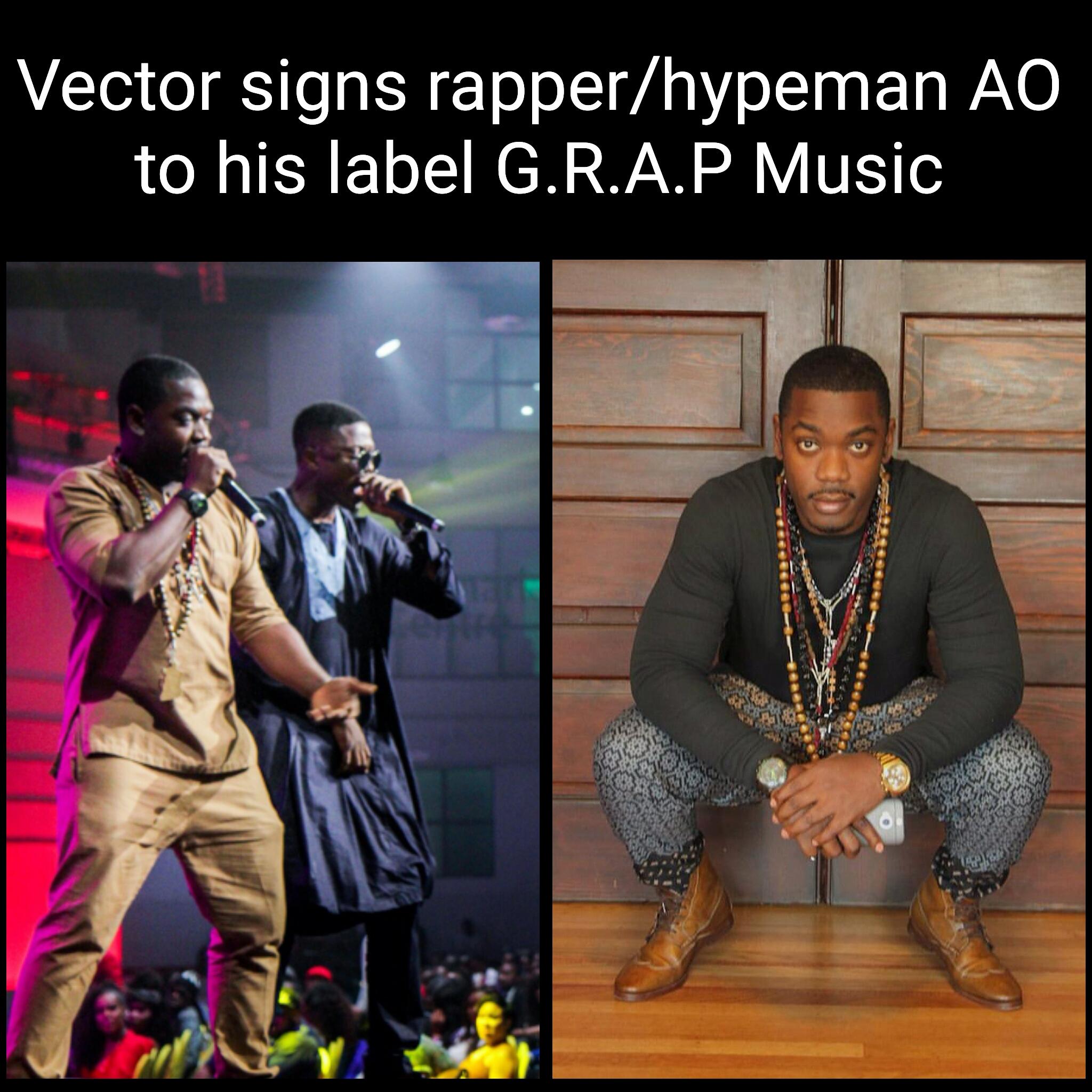 Vector & G.R.A.P Music Present: AO - Machine (Freestyle)