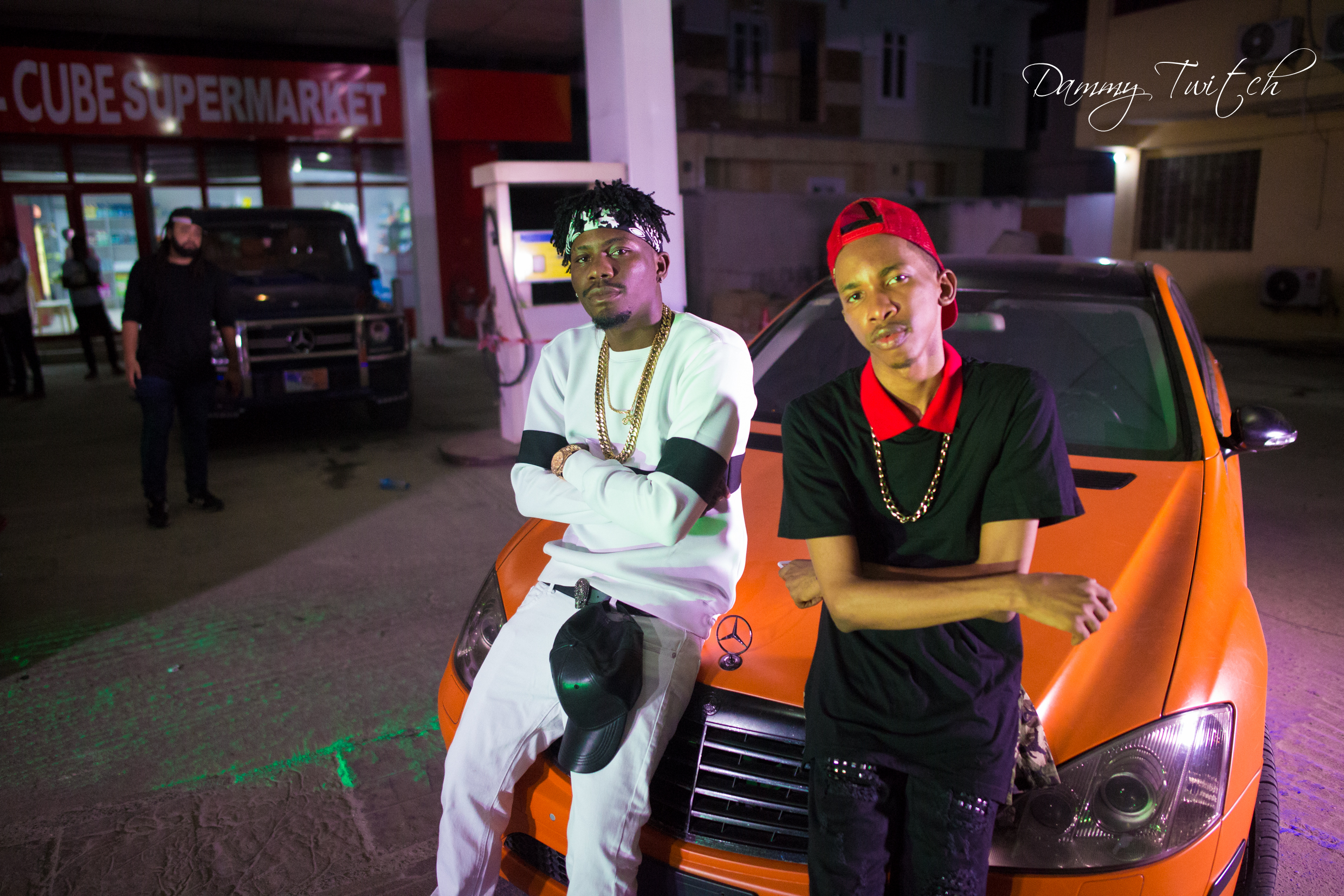 DJ Consequence ft. YCee - In A Benz (BTS Photos) | Vibes Machine Tour Highlights