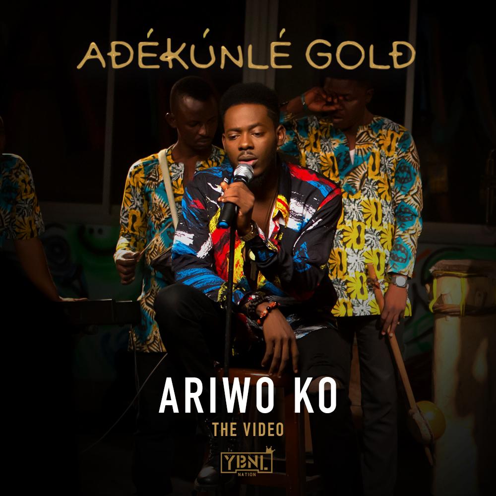 VIDEO: Adekunle Gold - Ariwo Ko