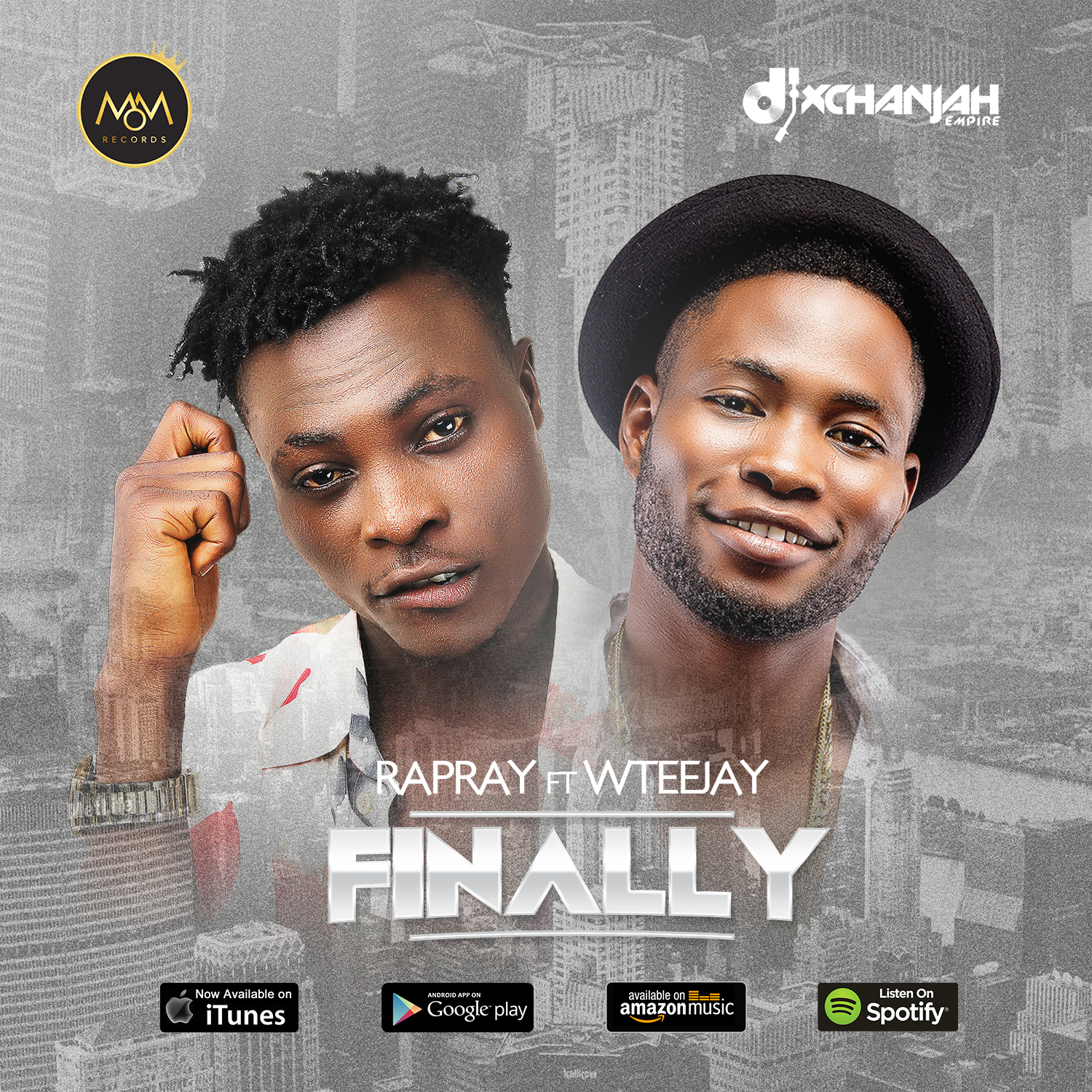 VIDEO: RapRay ft. WTeejay – Finally (prod. Young D)