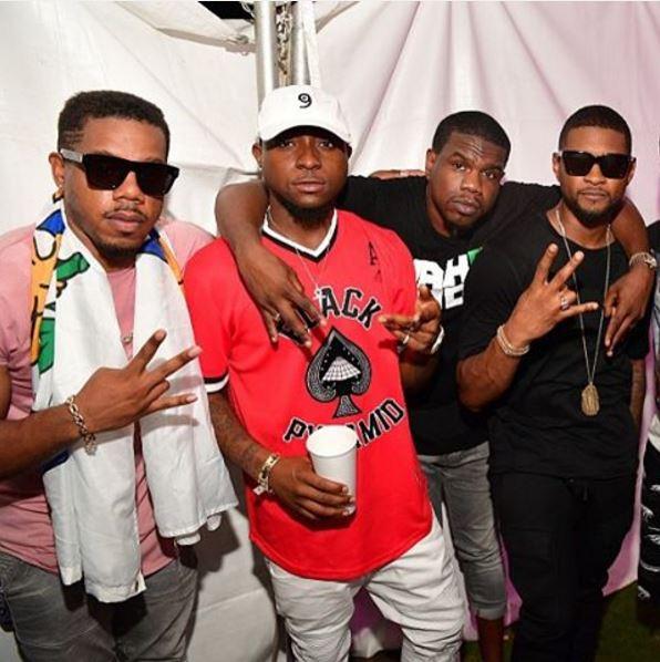 Davido Usher PXP fest