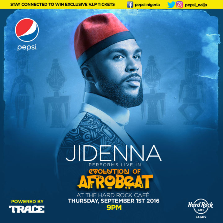 Here's Your Chance to Win An Exclusive VIP Ticket to See Jidenna Live in Lagos!