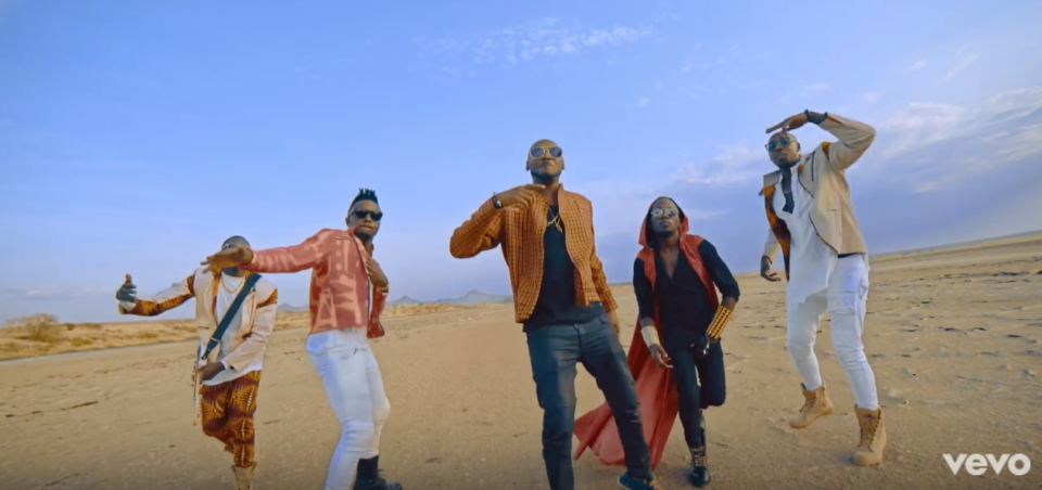 VIDEO: 2Baba ft. Sauti Sol - Oya Come Make We Go