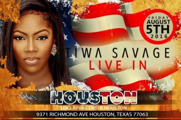 Tiwa Savage LIVE In Houston | This Friday | Aug 5, 2016 | The RED Tour