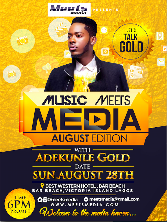 Adekunle Gold Meets Media as we Celebrate Ladies of 'Your View' TVC talk Show | Meets Media August