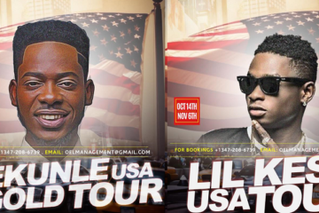 Adekunle Gold & Lil Kesh US Tour 2016 | Coming Soon!