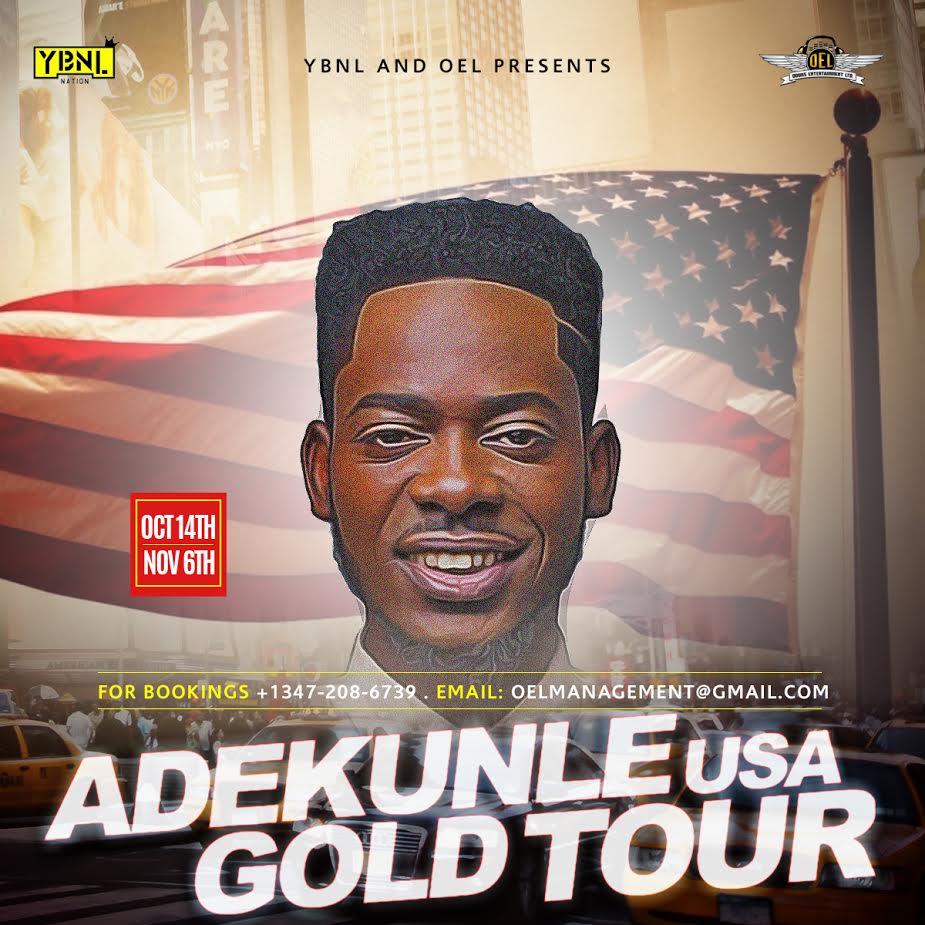 Adekunle Gold US Tour
