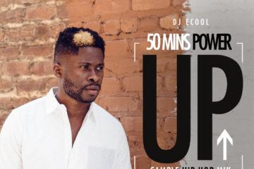"DJ ECool Presents: ""POWER UP HIP-HOP MIX"""