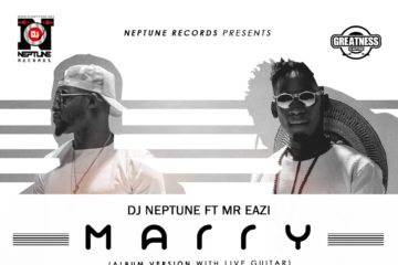 VIDEO: DJ Neptune Ft. Mr Eazi – MARRY | B-T-S Photos + Lyric VIDEO