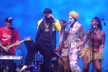 "VIDEO: Davido & Antibalas | Okayafrica's ""Afrobeat x Afrobeats"" at Lincoln Center Out of Doors"