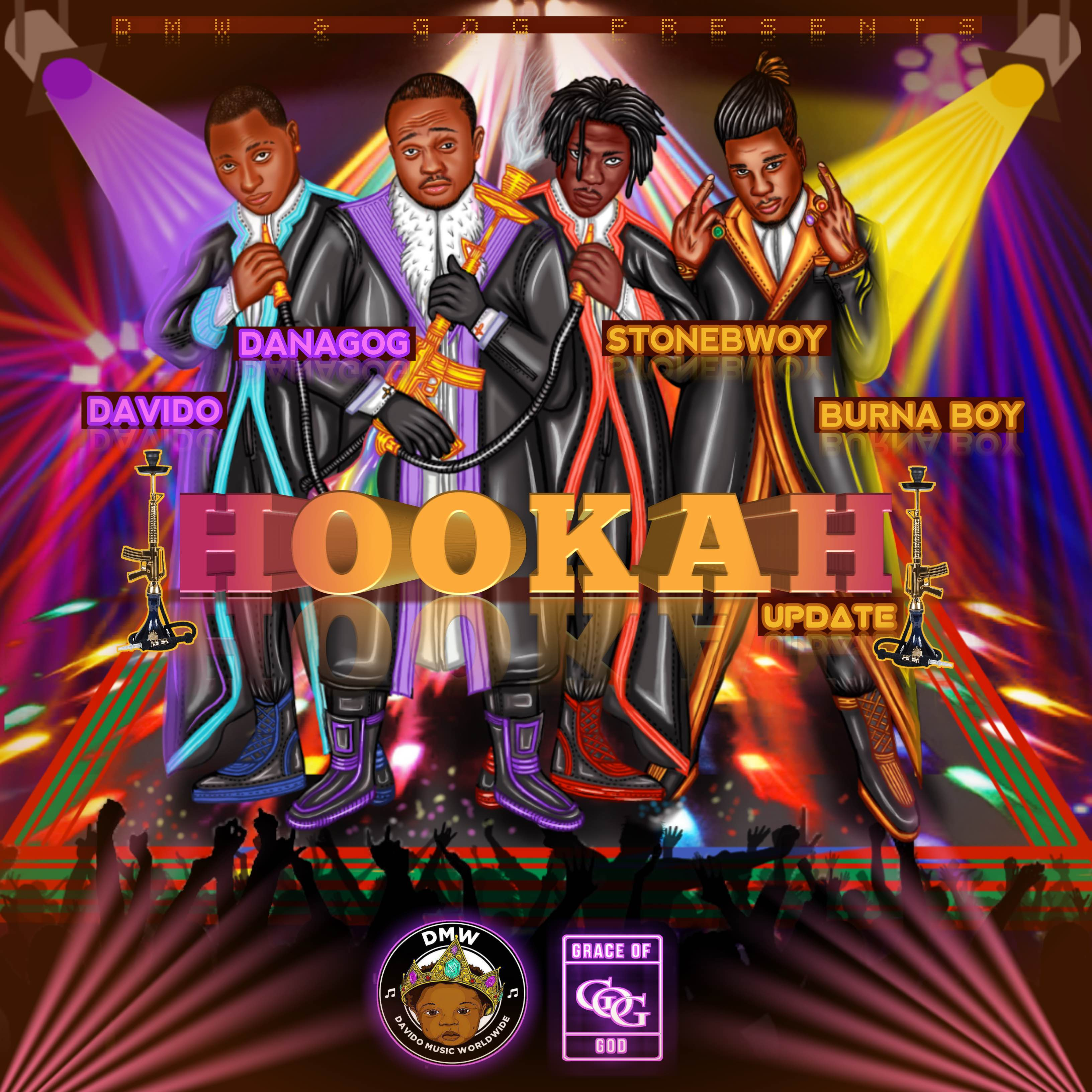 Danagog ft. Davido X Stonebwoy X Burna Boy - Hookah (Remix)