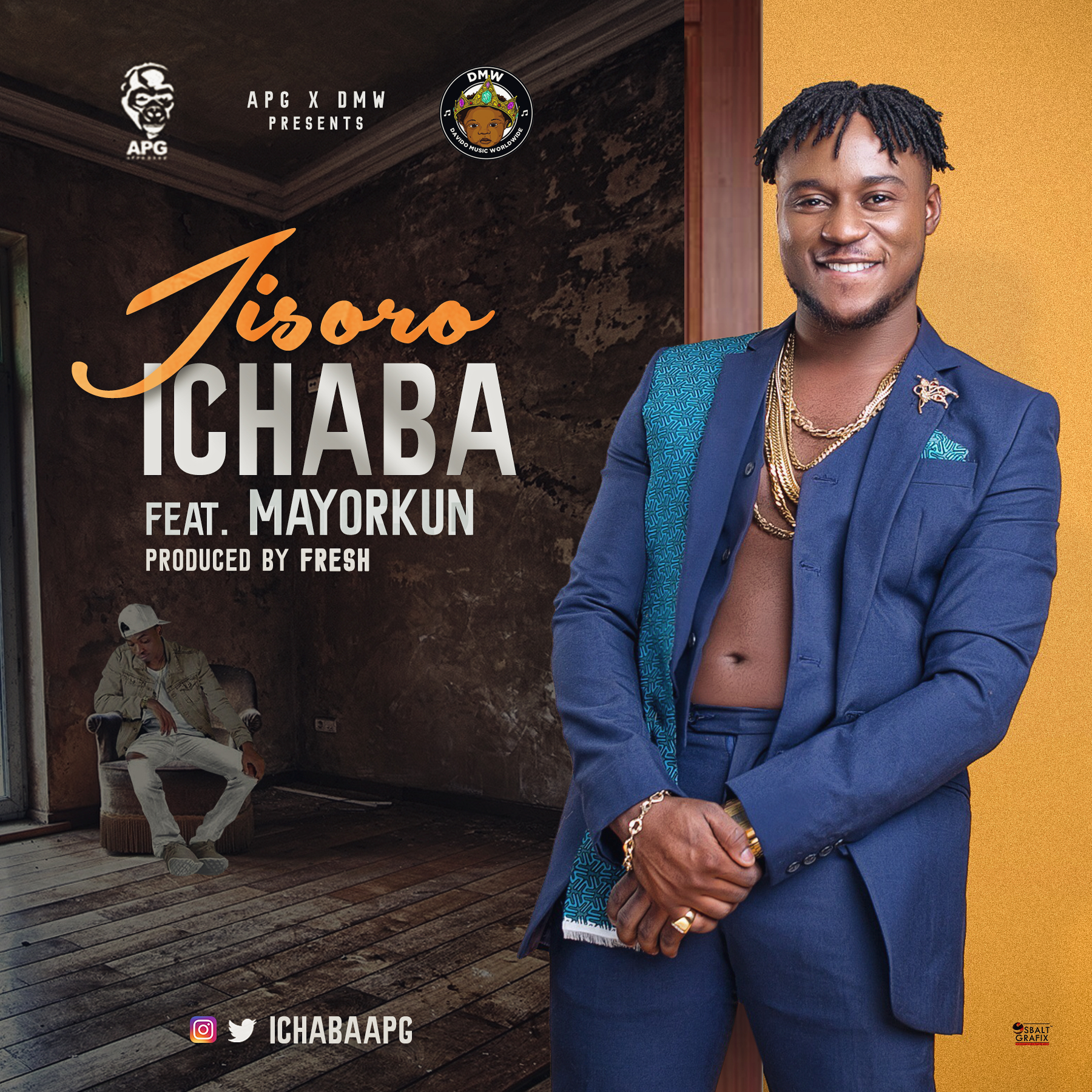 Davido Music Worldwide Unveils New Act | Ichaba ft. Mayorkun - Jisoro (Prod. By Fresh)