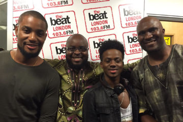 Korede Bello & Alex Ekubo Join #AfrohitsOnTheBeat