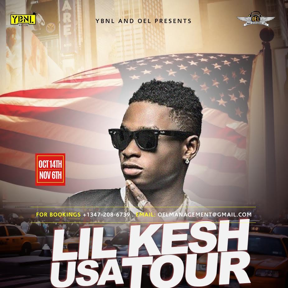 Lil Kesh US Tour
