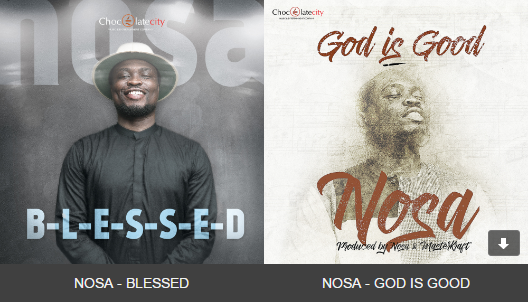 Nosa Blessed God Is Good