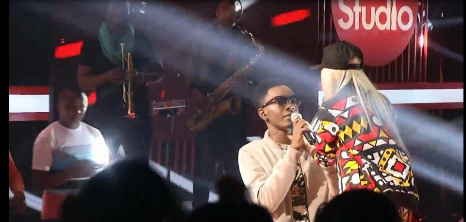 Patoranking and Vanessa on Coke Studio 4